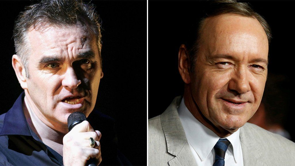 Morrissey denies defending Kevin Spacey