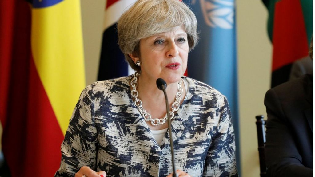 May to warn tech firms on terror content