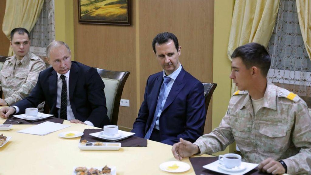 Syria war: Putin's Russian mission accomplished