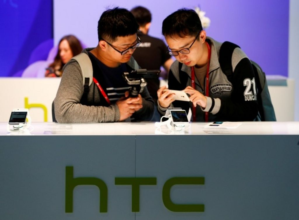 HTC shares suspended on Google rumours