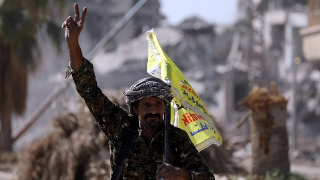 US-backed forces 'control' Raqqa