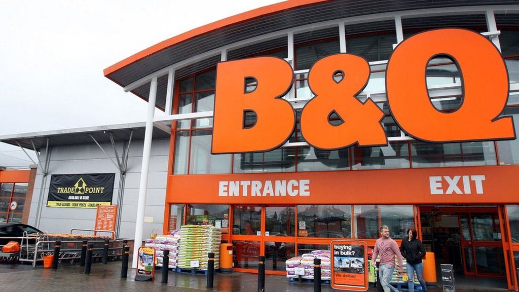 DIY firms Homebase and B&Q suffer sales slump