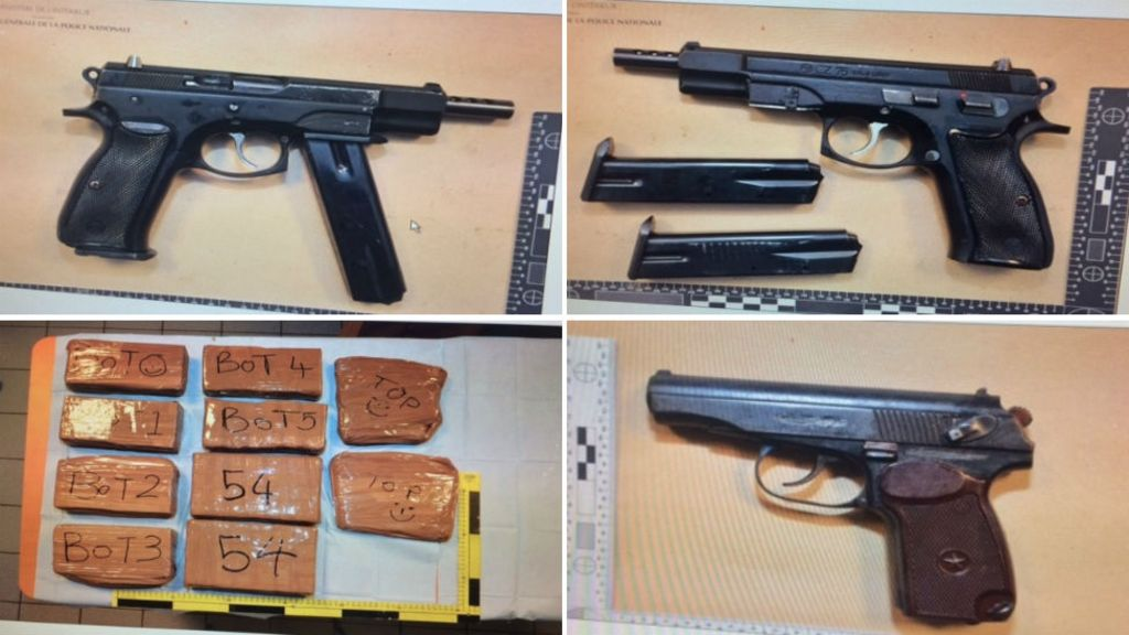 Border Force officer held in guns and drugs inquiry