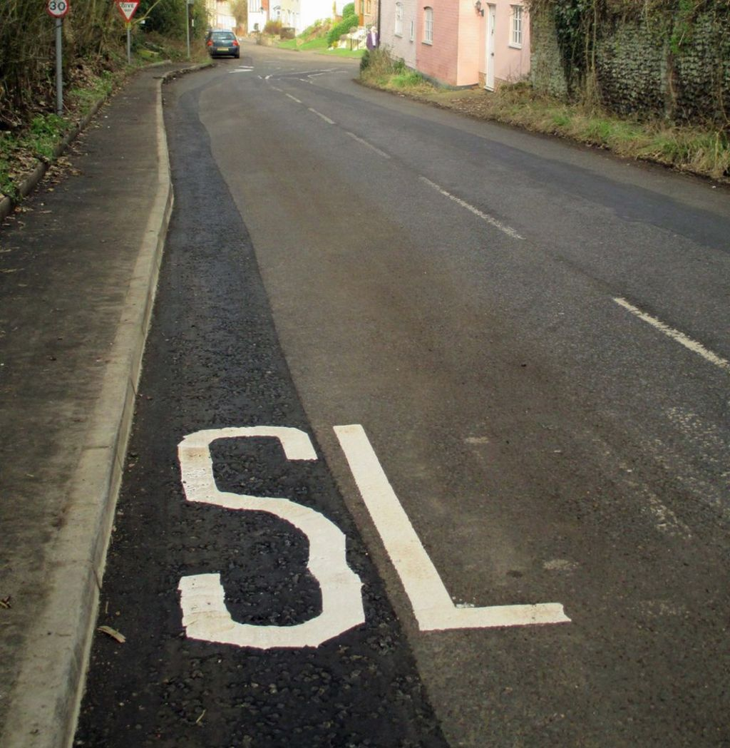 Drivers told to go 'SL' on country road