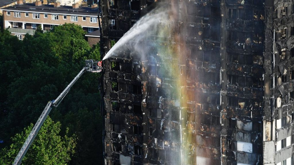 Grenfell fire: 111 buildings fail latest fire test