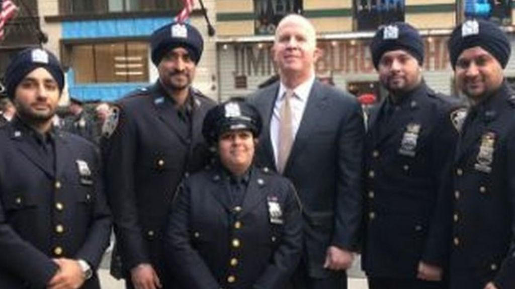 New York's Sikh police officers to replace hats with ...