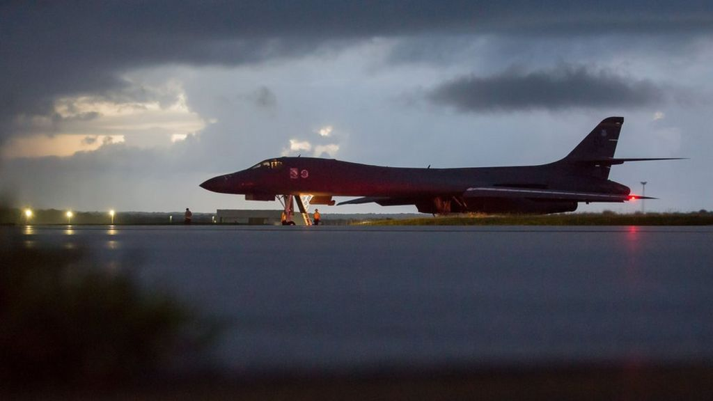 US bombers stage N Korea show of force