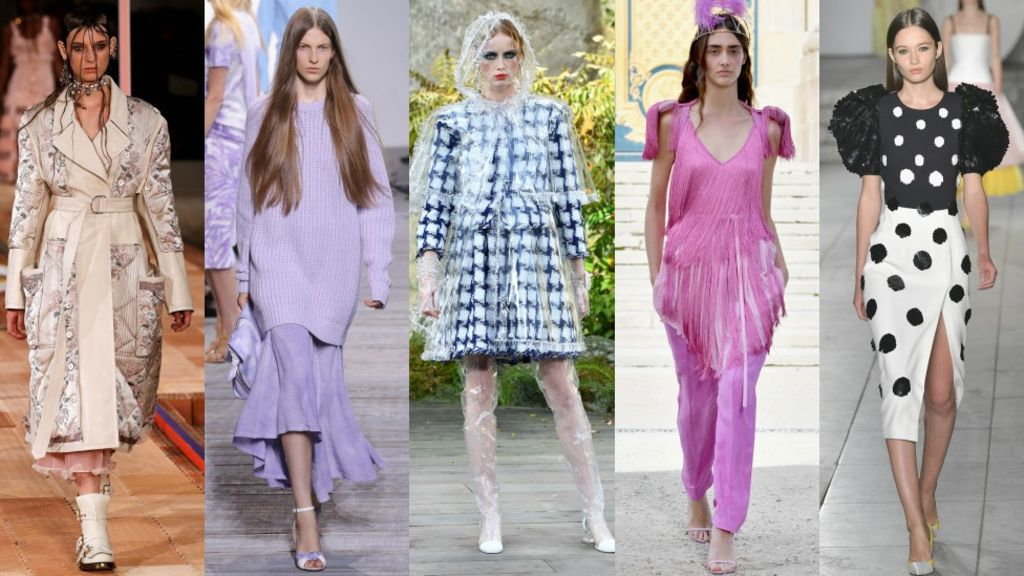 These are the six biggest fashion looks for 2018
