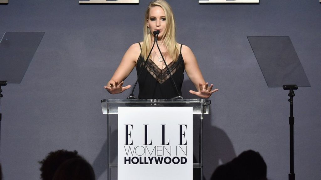 Jennifer Lawrence: Producers placed me in 'nude line-up'