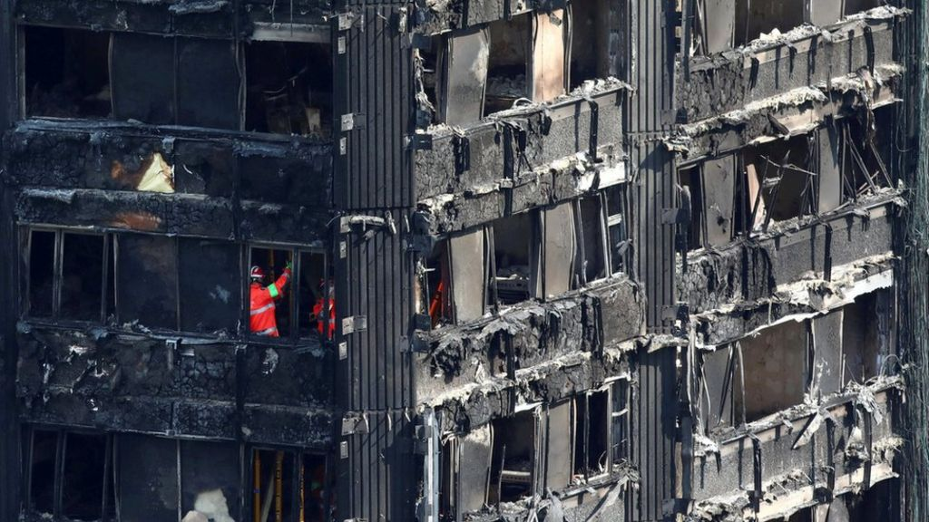 Grenfell Tower: Sixty blocks 'fail new fire test'