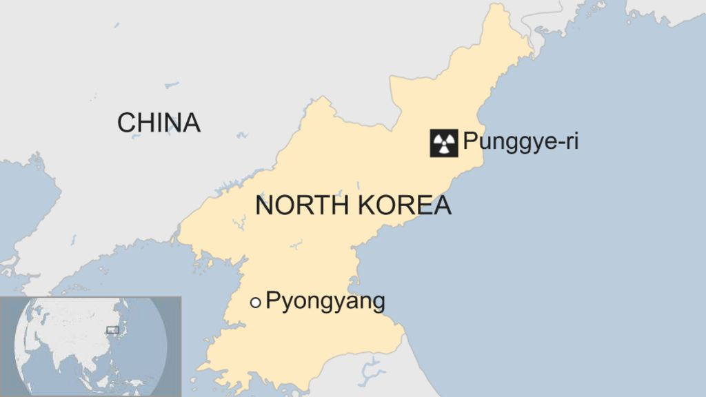 North Korea: Tremor detected near weapons' test site