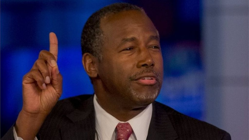 Carson defends stance on Nazis and guns