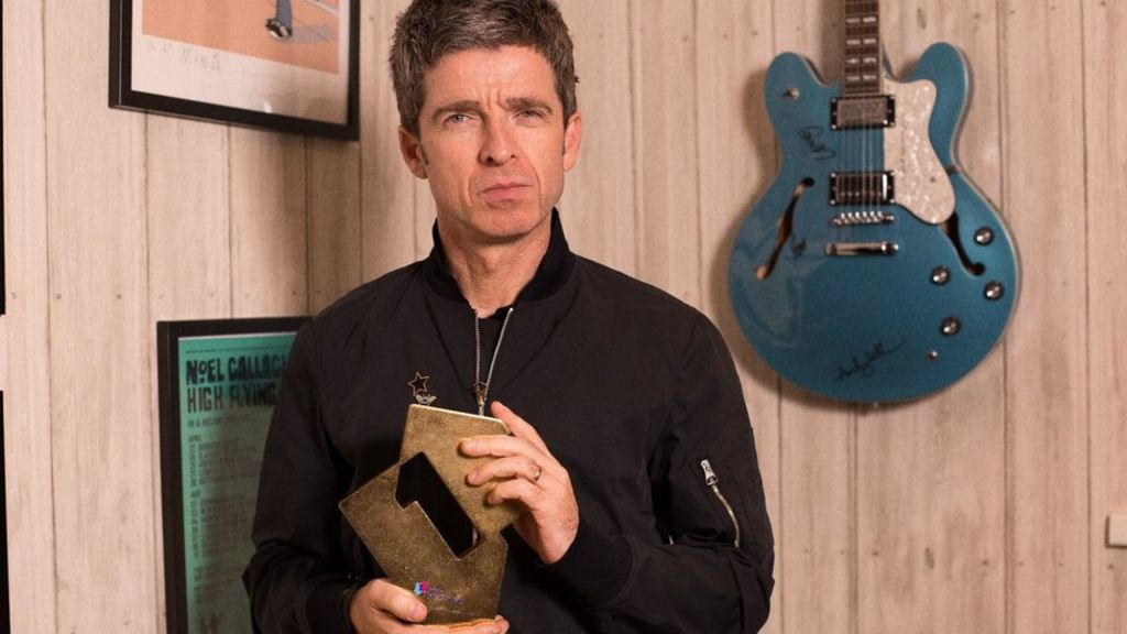 Noel Gallagher scores a 10th number one album