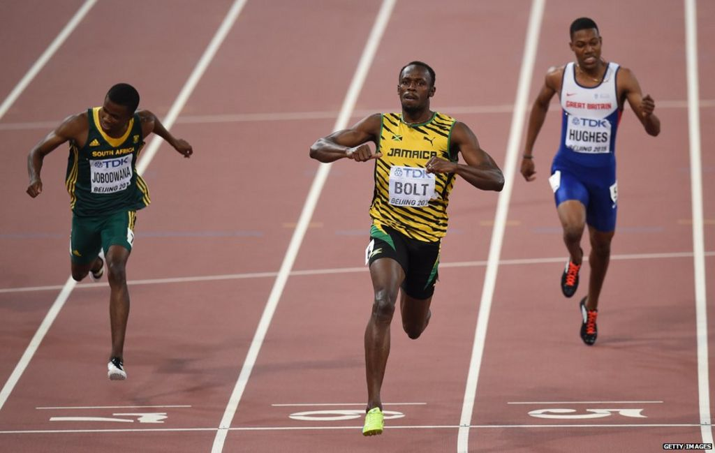 How does Usain Bolt run so fast? - BBC News