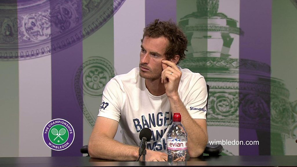 Andy Murray corrects journalist's 'casual sexism'