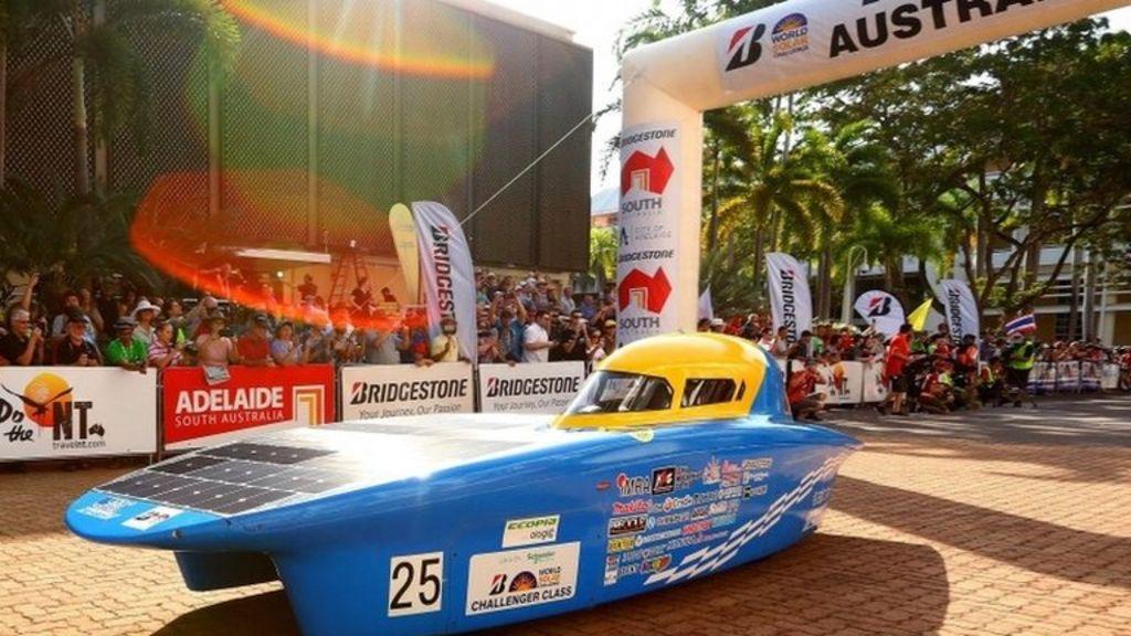 In pictures: Solar challenge race begins in Australia