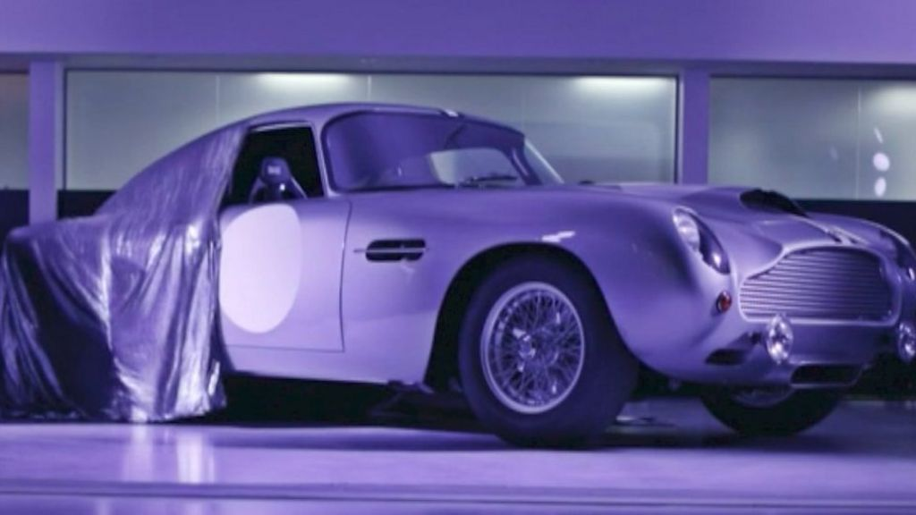 aston martin db4 model built after 55 year gap bbc news. Black Bedroom Furniture Sets. Home Design Ideas