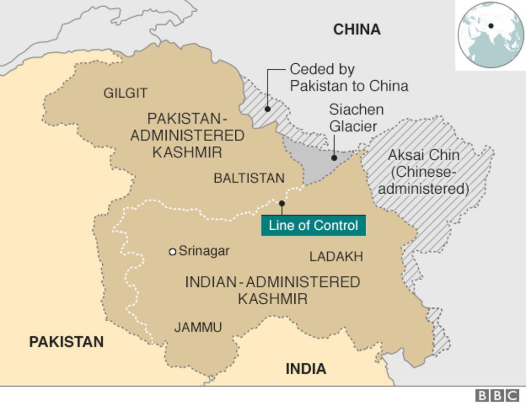 Asli Khabar: Kashmir is fast becoming World's Fistula ...  Jammu And Kashmir World Map