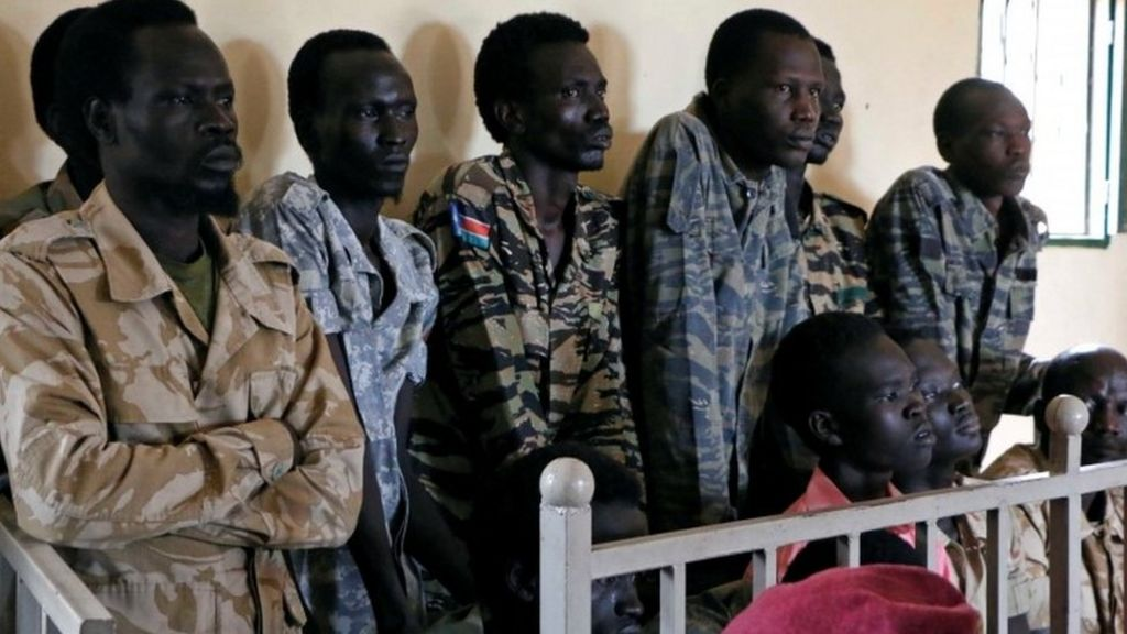 South Sudan soldiers on trial over rape of aid workers ...