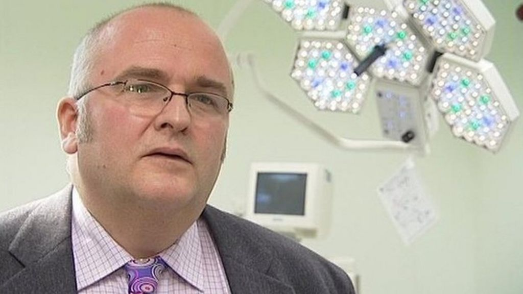 Surgeon marked initials on patients' livers