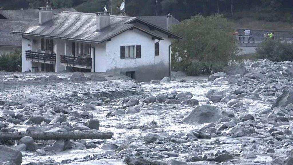Switzerland landslide: Are the Alps melting?