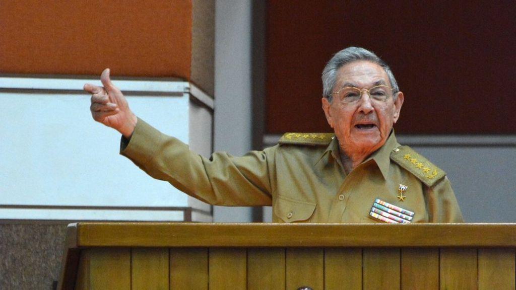 Raul Castro denounces Donald Trump's Cuba policy
