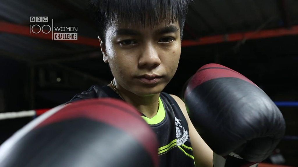 100 Women: Meet Bangkok's all-female Muay Thai fight team - BBC News