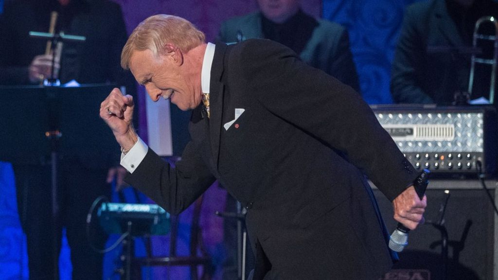 In pictures: Bruce Forsyth fans copy his pose in unusual locations