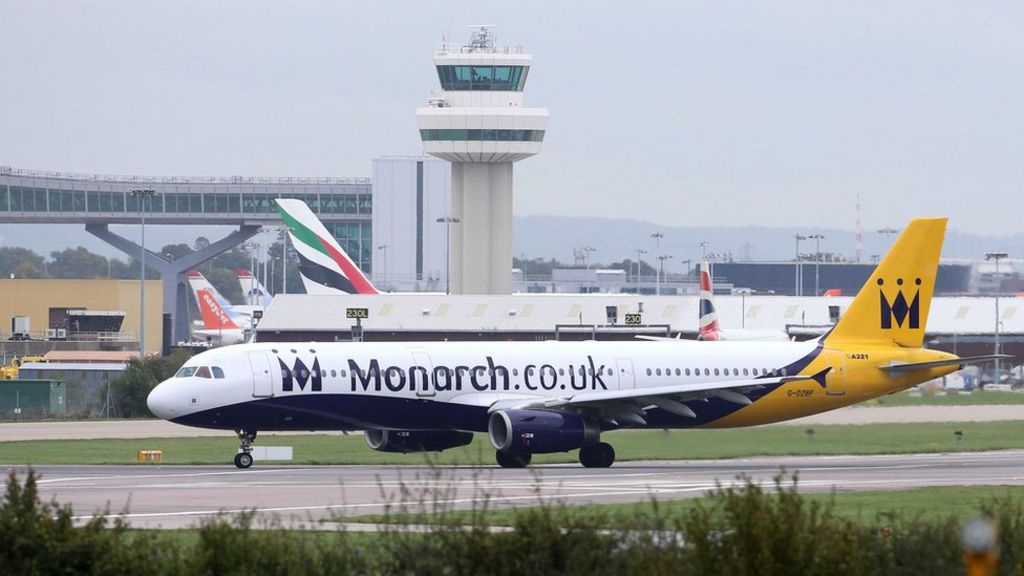 Monarch flights cancelled as airline ceases trading