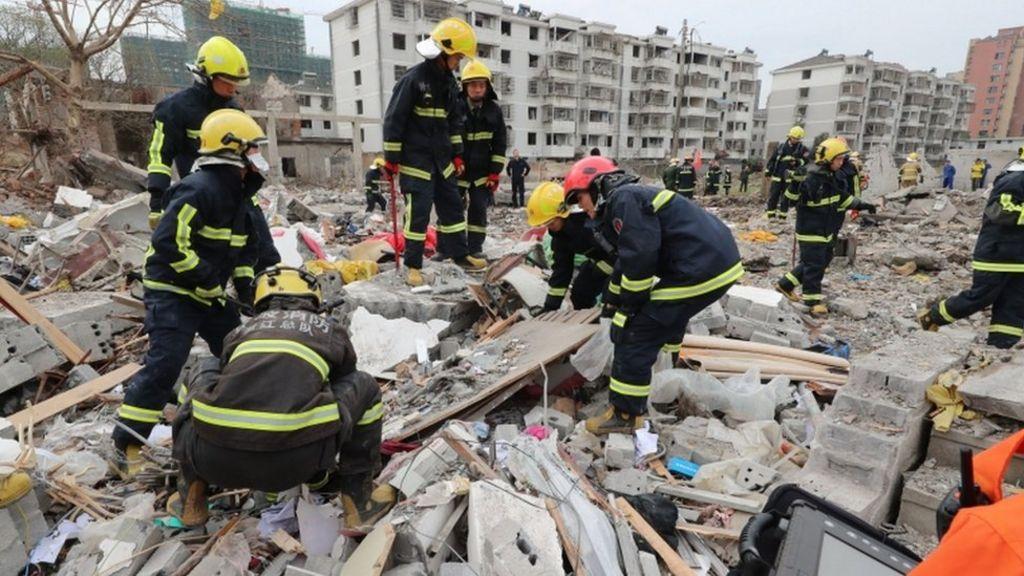China explosion: Ningbo port city rocked by major blast