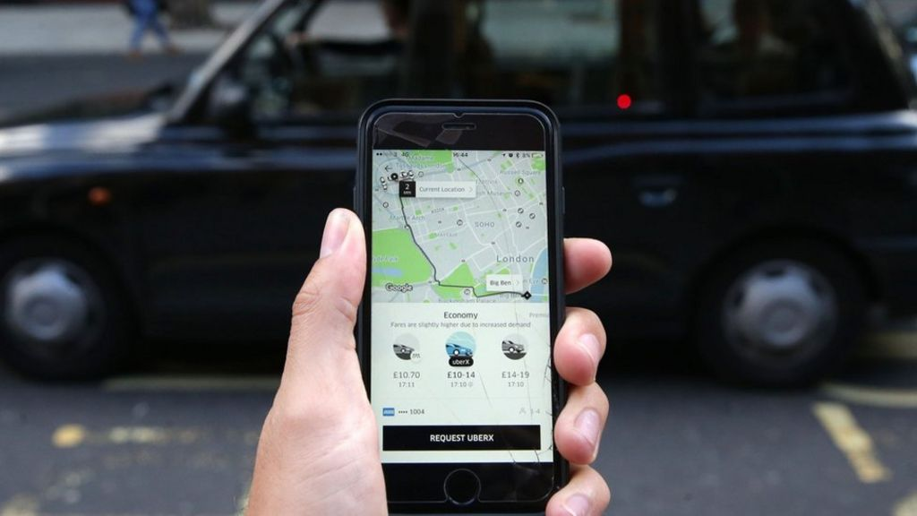 Uber's London woes boost rival taxi apps