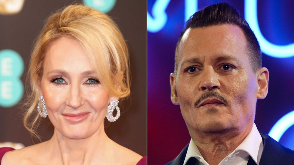 JK Rowling 'happy' about Depp casting