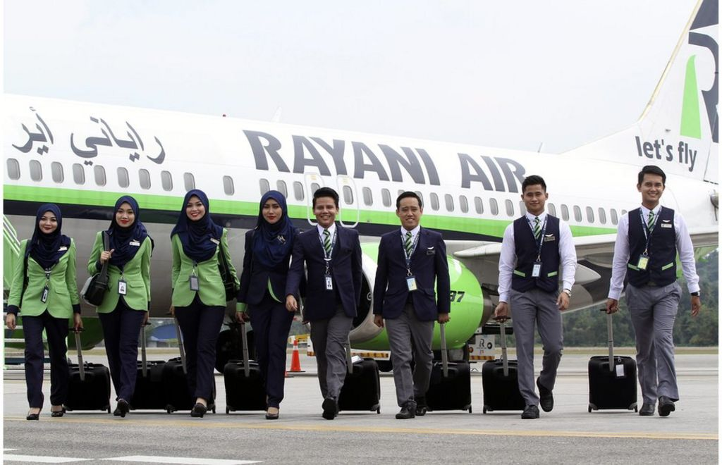 Malaysia's Islamic airline Rayani Air barred from flying - BBC News