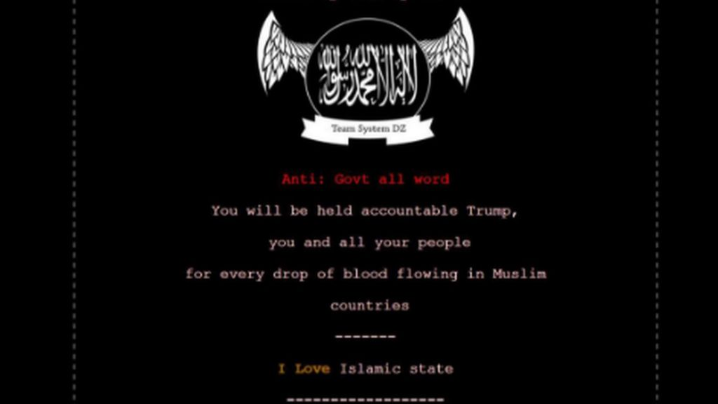 Ohio sites hacked with IS message
