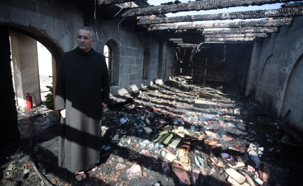 Jesus 'miracle church': Jewish extremist found guilty of arson