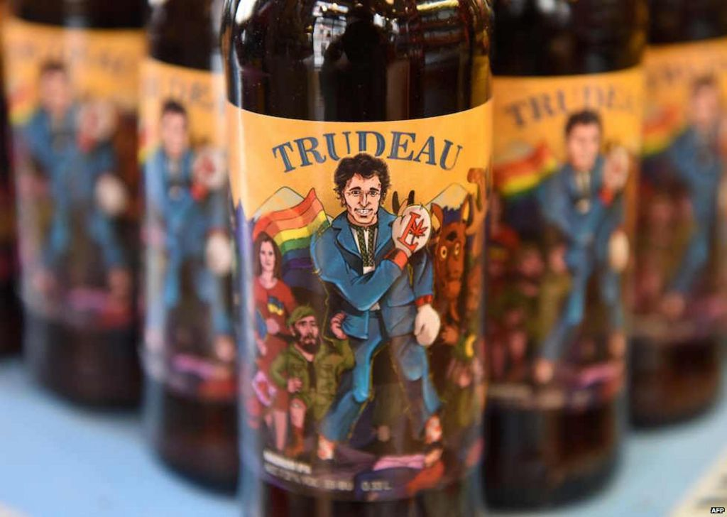 Trump and trudeau get ukrainian craft beer named after for Craft beer capital of the world