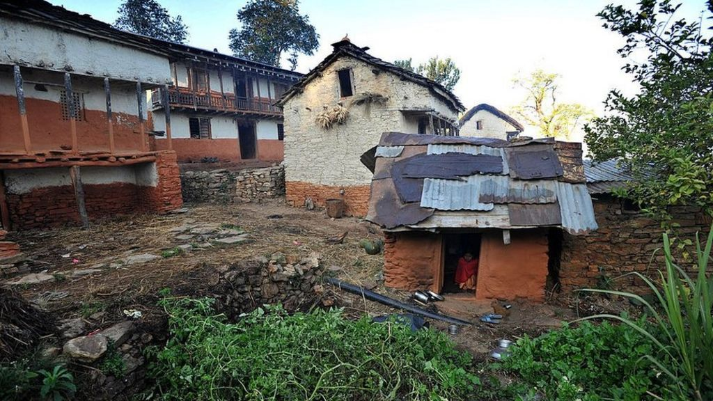 Nepal criminalises banishing menstruating women to huts