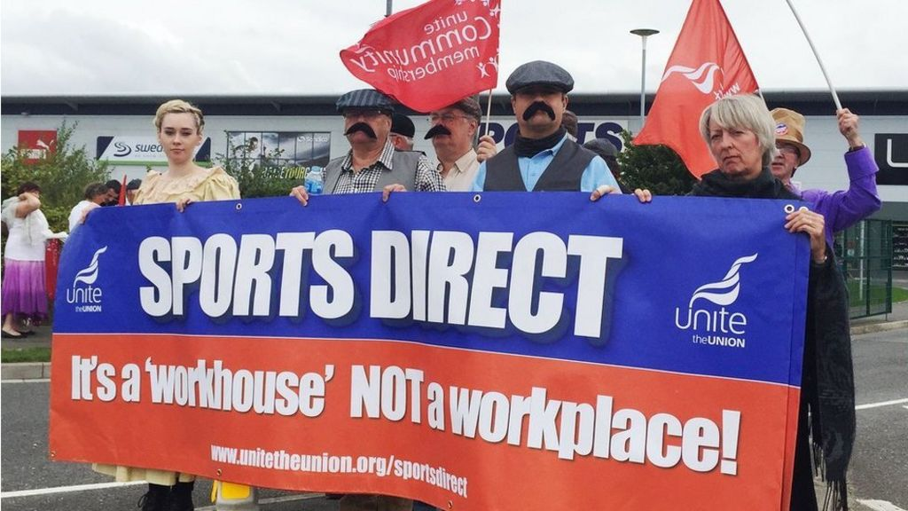 sports direct staff 39 not treated as humans 39 says mps 39 report bbc news. Black Bedroom Furniture Sets. Home Design Ideas