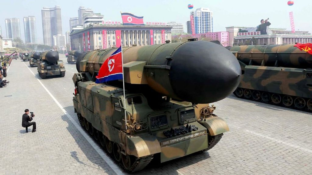 North Korea tests new missile engine, US officials say – BBC News