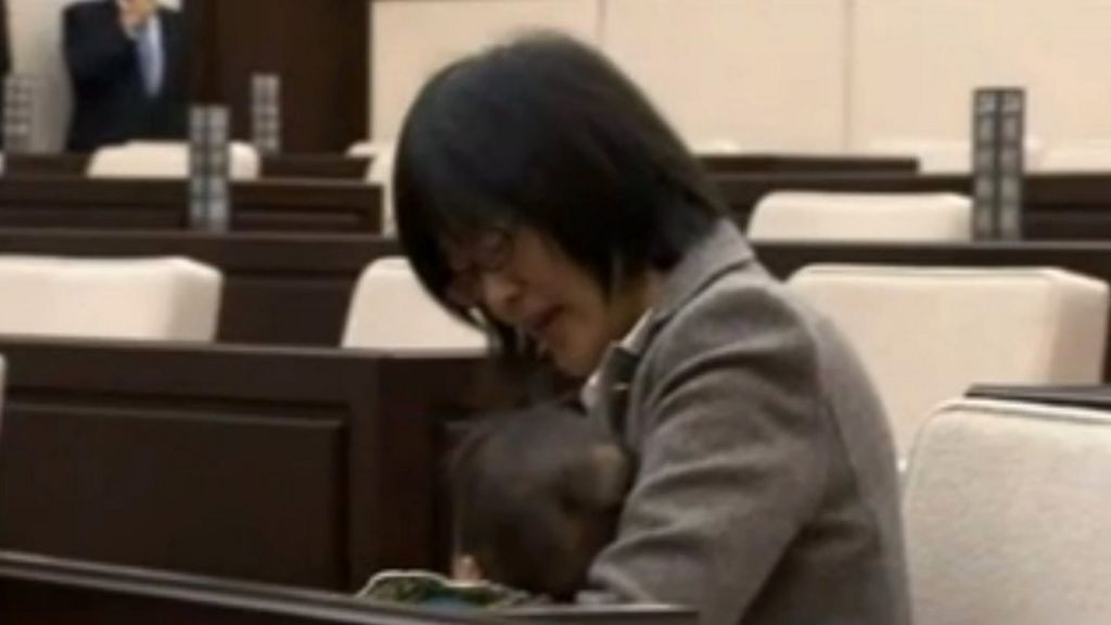 bbc.co.uk - Baby ordered out of Japan assembly
