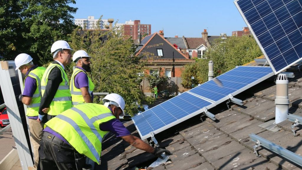 Solar power deal will lower social tenants' energy bills