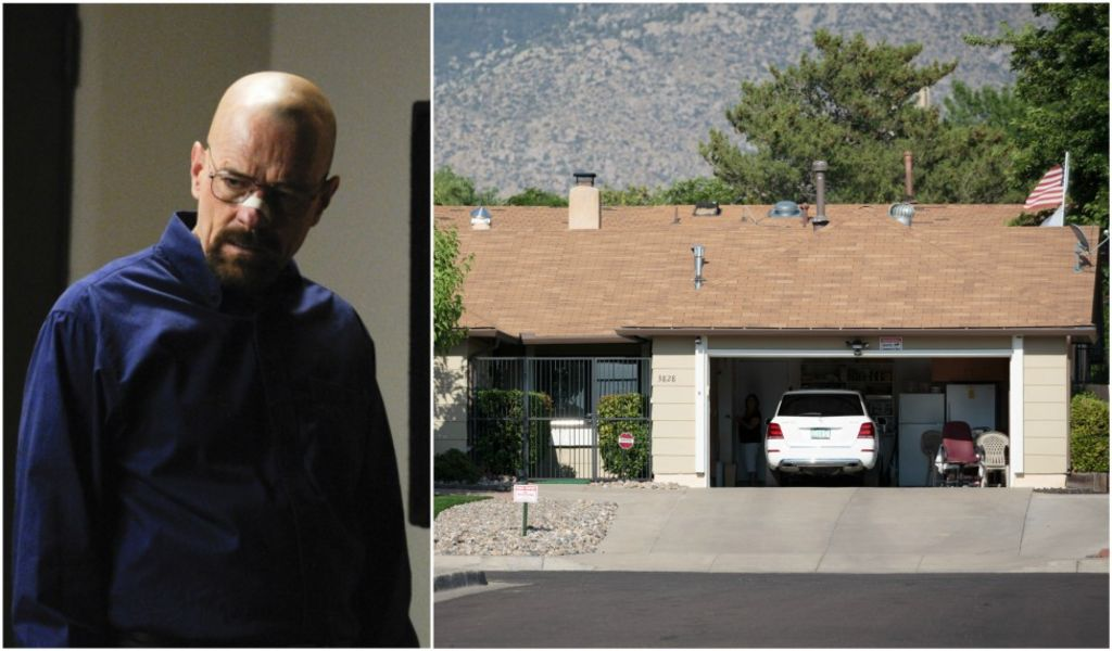 Breaking Bad house blocks pizza pranksters