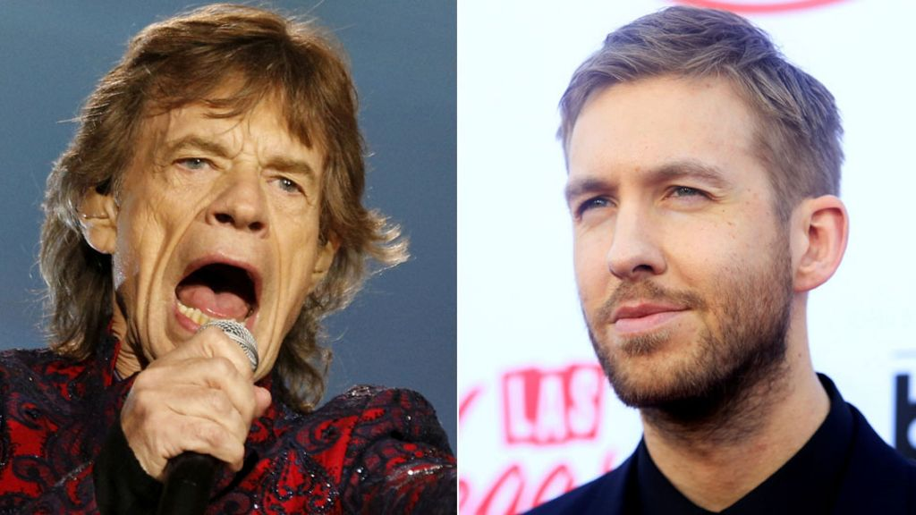 Calvin Harris equals The Rolling Stones' chart record