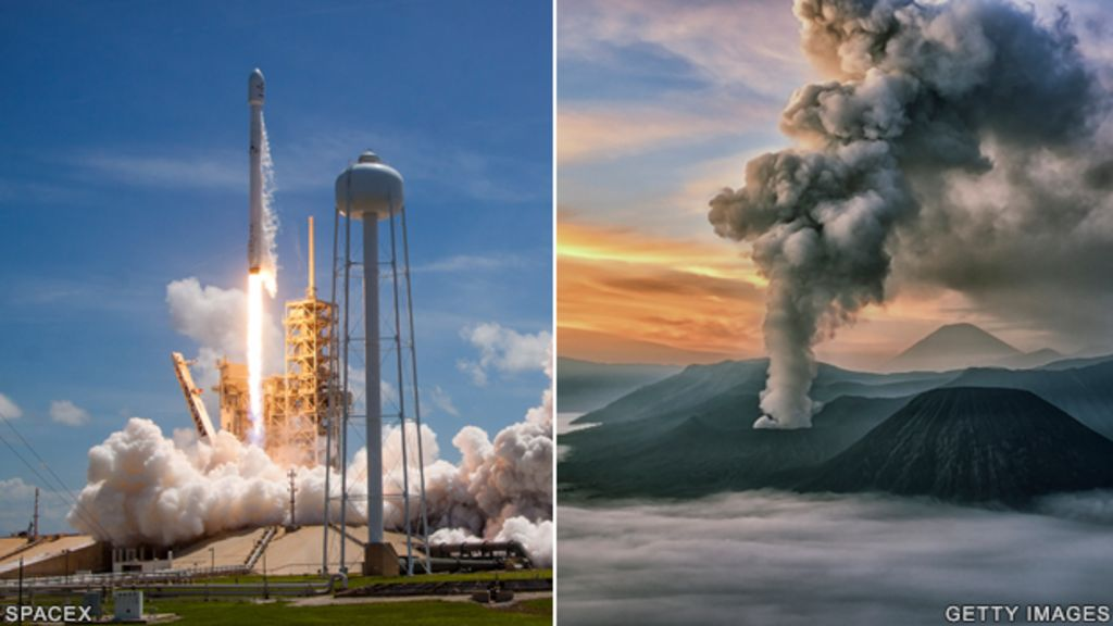 Rocket rumbles give volcanic insights
