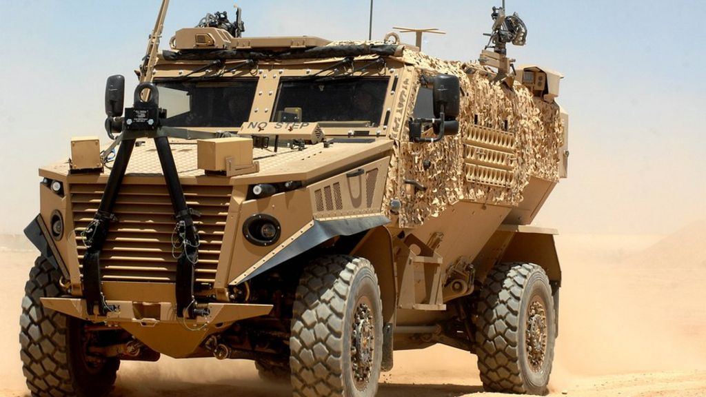 Foxhound MoD vehicles 'keep breaking down'