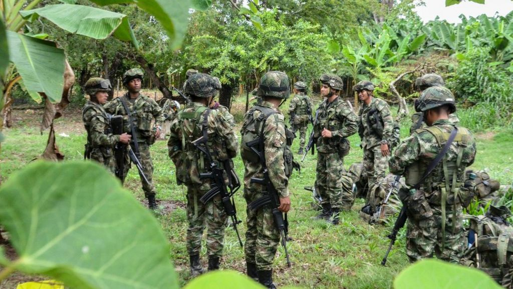 Colombia conflict: Two Dutch journalists kidnapped