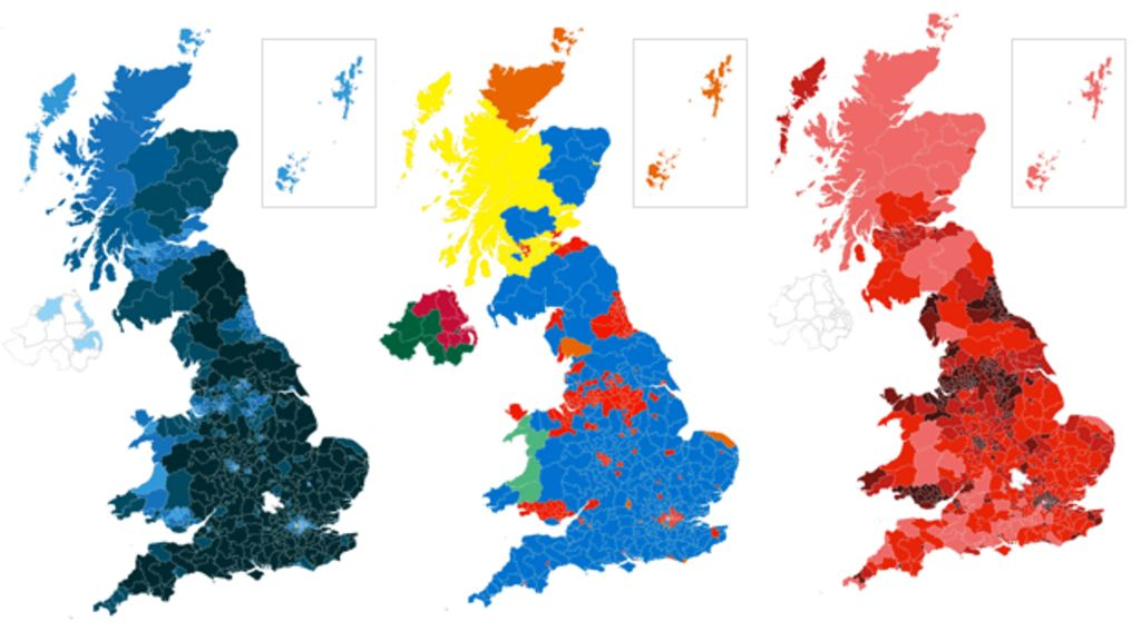 election results 2017 map