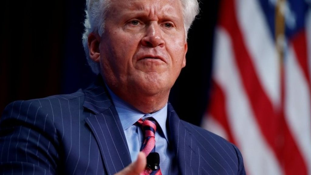 Jeff Immelt of General Electric quits race to be Uber boss