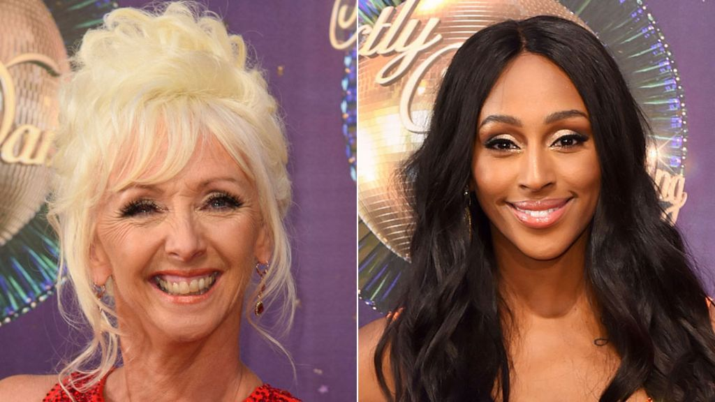 Debbie McGee hits back at feud rumours with Alexandra Burke