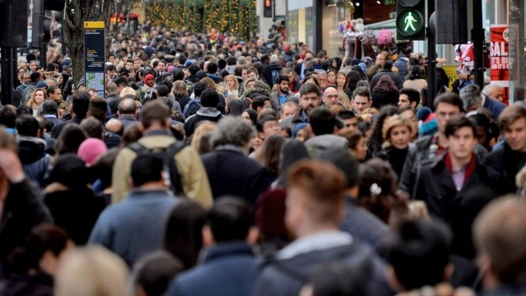 UK population rise of 538,000 is biggest for 70 years